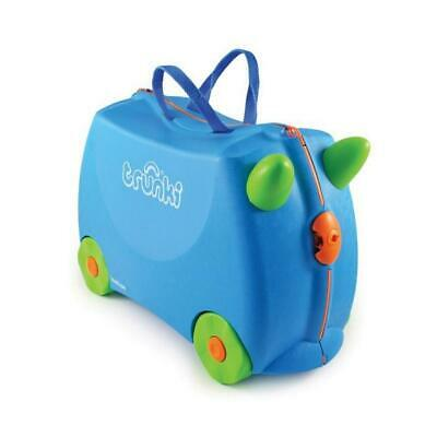 Trunki Ride-On Suitcase (Terrance Blue) Free Shipping!
