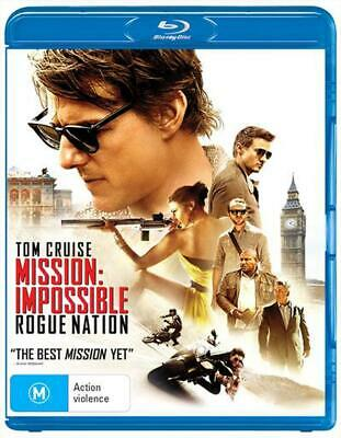 Mission Impossible - Rogue Nation - Blu Ray Region B Free Shipping!