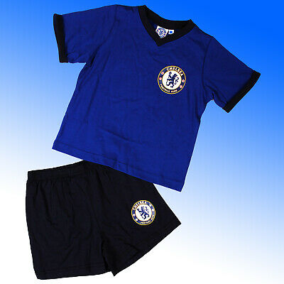 Boys Official Chelsea FC Short Pyjamas #CFC  Age 3-12 Years