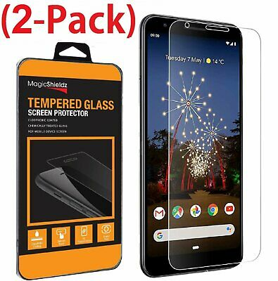 2-Pack Tempered Glass Screen Protector For Google Pixel 3a / Pixel 3a XL