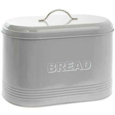 Bread Bin Storage Container In Grey By The Leonardo Collection