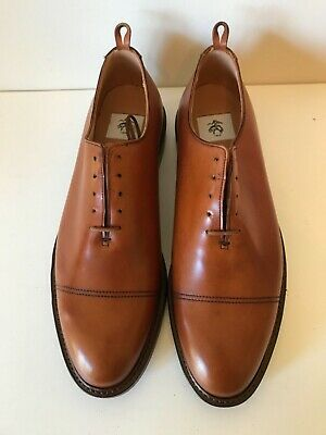 02283959d5dfcd BROOKS BROTHERS THOM BROWNE by CROCKETT & JONES Oxford SHOES new 10.5 D  made UK