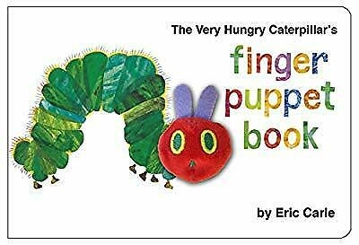 The Very Hungry Caterpillar Finger Puppet Book, Carle, Eric, Used; Good Book