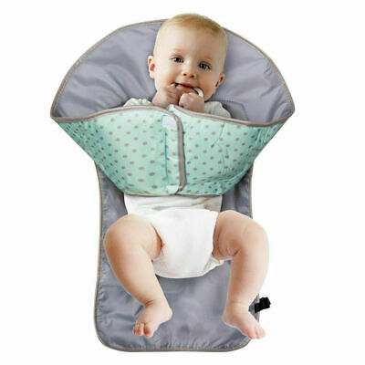 Foldable Portable Baby Diaper Mat Changing Pad Clutch Station Travel Waterproof