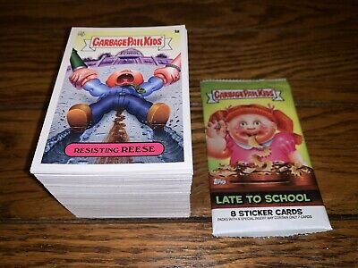 2020 Garbage Pail Kids Late To School 200 Card Base Set Complete Nm Pack Fresh