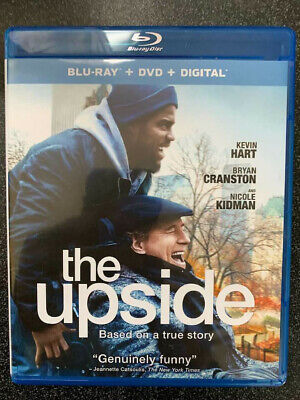 Upside, The 2019 BLU-RAY+Case&Art ONLY No DVD/Digital SAVE$$$ Combine Shipping
