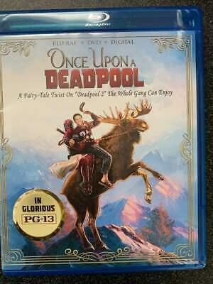 Once Upon a Deadpool BLU-RAY+Case&Art ONLY No DVD/Digital SAVE$$$ Combine Ship