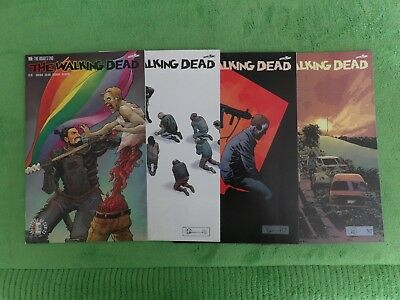 2017 The Walking Dead Lot of 4 - Issues 168 thru 170 & 168 Pride Month Variant