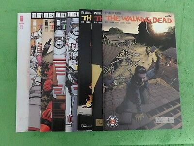 2018 The Walking Dead Lot of 8 - Issues 172 - 178 & 178 Variant Andrea Cover
