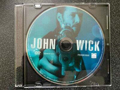 John Wick Chapter 1 DVD ONLY with CD Case No Digital SAVE$$$ Combine Shipping