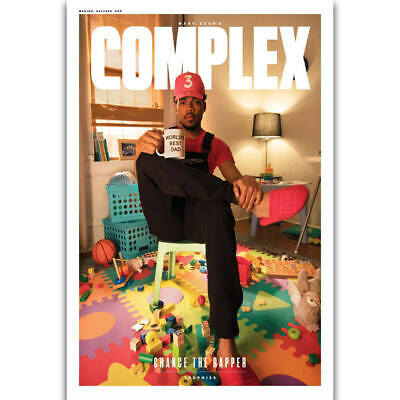 Chance The Rapper Magazine Cover Acid Rapper Hot Poster K-731