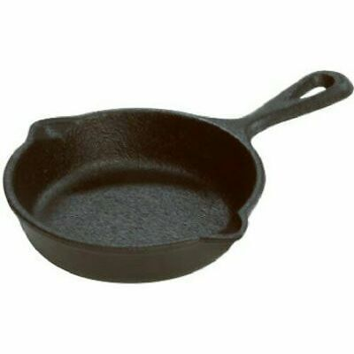 Cast Iron Griddle Pan Pre Seasoned Skillet Cookware Mini Small 3.5 Inch