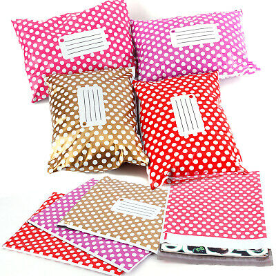 Cheap Self Seal All Size/Colour Polka Dots Bag Post Plastic Mailing Bags Strong