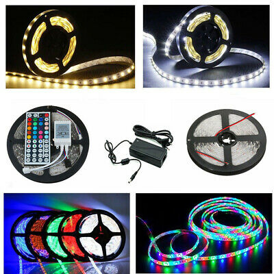 5m-30m Set SMD 2835 5050 3528 LED Strip Streifen Band Leiste Stripe Lichterkette