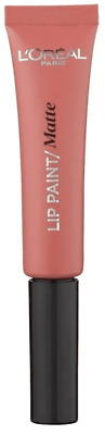 L'oreal Lip Paint Matte Lipstick  201 Hollywood Beige - 8 ml