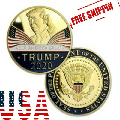 Donald Trump 2020 Keep America Great Commemorative Challenge Coin US LY