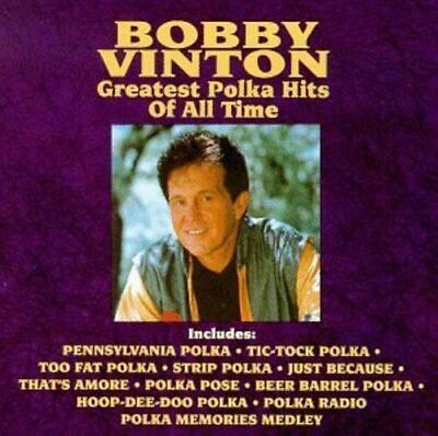 Bobby Vinton : Greatest Polka Hits Of All Time CD