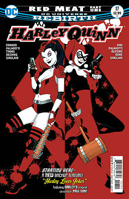 HARLEY QUINN #17 NEAR MINT 2015 UNREAD DC COMICS bin-2017-6615