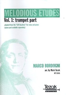 Mark Tezak Verlag Melodious Etudes vol.1 - Trumpet Part