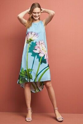 18dd226fe680d NWT DRA ANTHROPOLOGIE Avian Kimono Midi Dress, Floral, V-Neck, Size ...