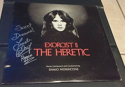 "LINDA BLAIR - Record LP Album (""EXORCIST II - THE HERETIC"") - SIGNED in Person"