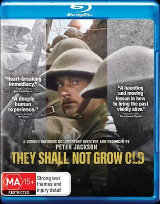 They Shall Not Grow Old - Blu Ray Region B Free Shipping!