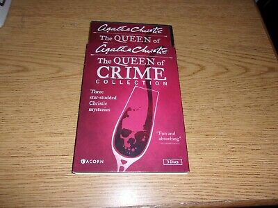 Agatha Christies The Queen of Crime Collection (DVD, 2014, 3-Disc Set)