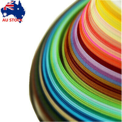 Paper Quilling Strips Set 500pcs Strips 50 Color Width 5mm Length 54cm Handcraft