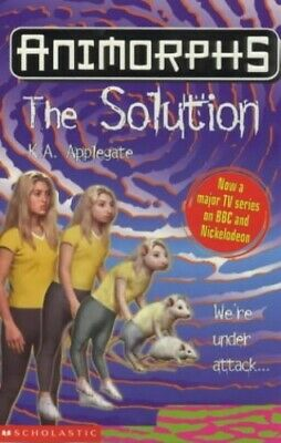 The Solution (Animorphs) by Applegate, Katherine Paperback Book The Fast Free