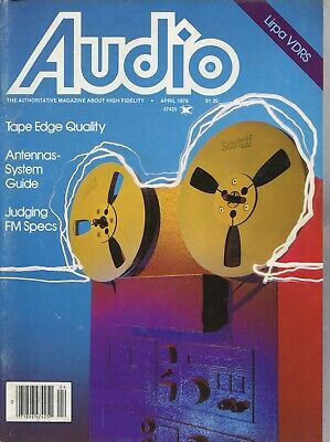 Audio Mag Apr 1978 Project/One Mark IVB, Garrard GT-35, Dual 939, Ace Audio 3100