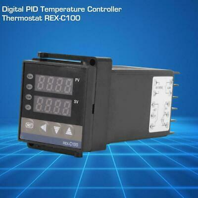 100-240V Digital PID Temperature Controller Thermostat REX-C100 Thermocouple SY