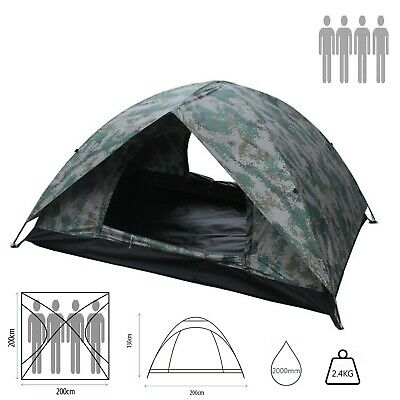 Tent Lightweight Family camping Festival 2 3 4 Person Berth double Skin Couple