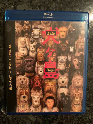 Isle of Dogs 2018 BLU-RAY+Case&Art ONLY No DVD/Digital SAVE$$$ Combine Shipping