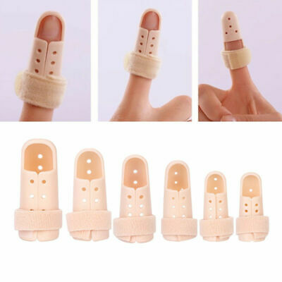 Plastic Mallet Finger Splint Joint Support Brace Protection Fracture Vintage New