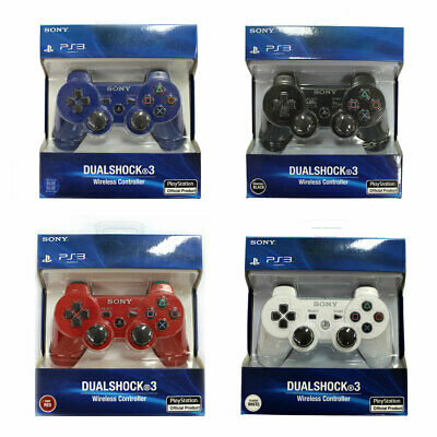 100% Brand New Sony PlayStation DualShock 3 PS3 Wireless SixAxis Controller UK