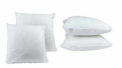 """8 Pack of 16 Inch Sofa Cushion Pads 16"""" x 16"""" Square Cushion Inner Extra Filled"""