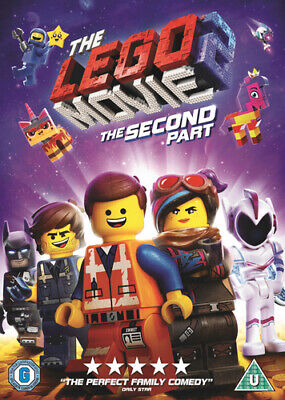 The LEGO Movie 2 DVD (2019) Mike Mitchell cert U ***NEW*** Fast and FREE P & P
