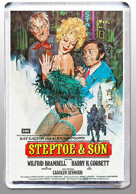 STEPTOE & SON movie poster LARGE FRIDGE MAGNET - UK TV COMEDY CLASSIC!