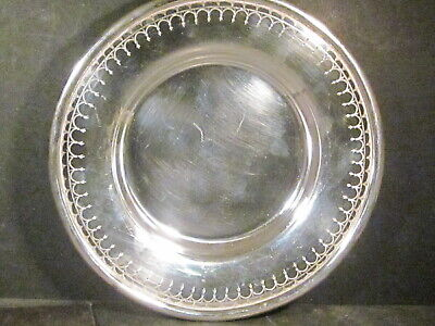 "Sterling S Kirk & Son Co  BOWL 9 1/2"" x 1 1/4""  #20 Unknown Pattern 509 grams"