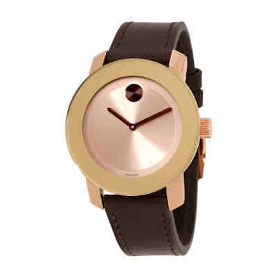 Movado Bold Rose Dial Ladies Watch 3600380