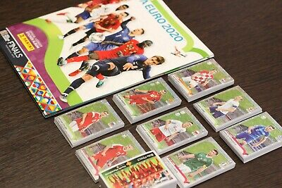 Road to Uefa Euro 2020 newest collection set and album Mint
