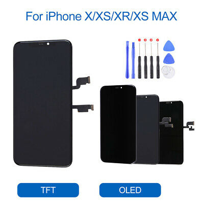 OLED LCD Display Touch Screen Digitizer Replacement Display For iPhone X XR XS