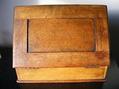 Vintage Wooden Stationary Box / Writing Slope