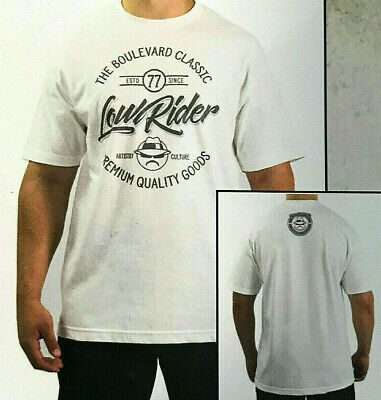 56d35832c Lowrider Clothing VINTAGE CIRCLE T Shirt Old School Hustler Authetic Classic  New