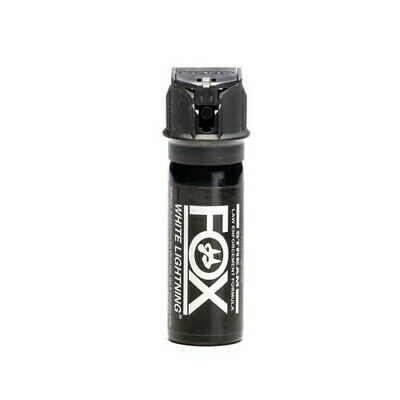 Fox Labs 156WLS White Lightning Flip Top Safety Personal Defense Spray