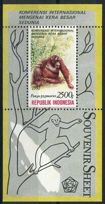 Indonesia , MNH, zbl. bl. 96 , 1991 ( 586 )