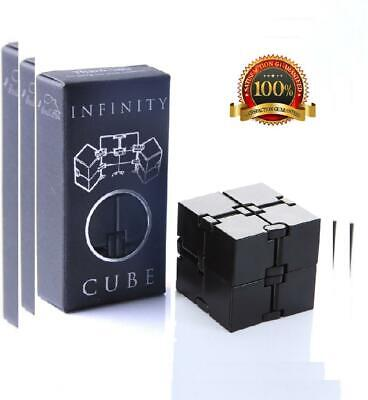 Infinity Cube Fidget Toy, Luxury EDC Fidgeting Game for Kids and Adults,...