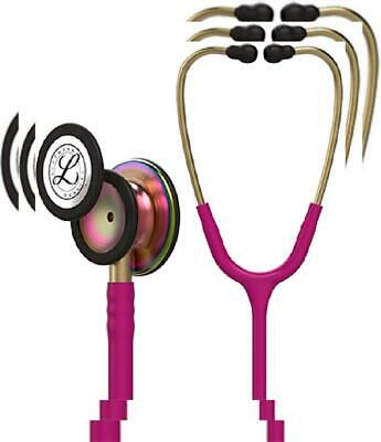 3M Littmann Classic III Monitoring Stethoscope, Raspberry Tube