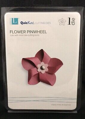 "Quickutz//Lifestyle Crafts DR-0314  /""Flower/"" 1  4x4 Cutting Die  NEW Shape 3x3/"""