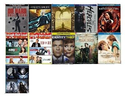 Blu-Ray/DVD Movies SEALED: Game of Thrones, Hunger Games, X-Men, Collection Sets